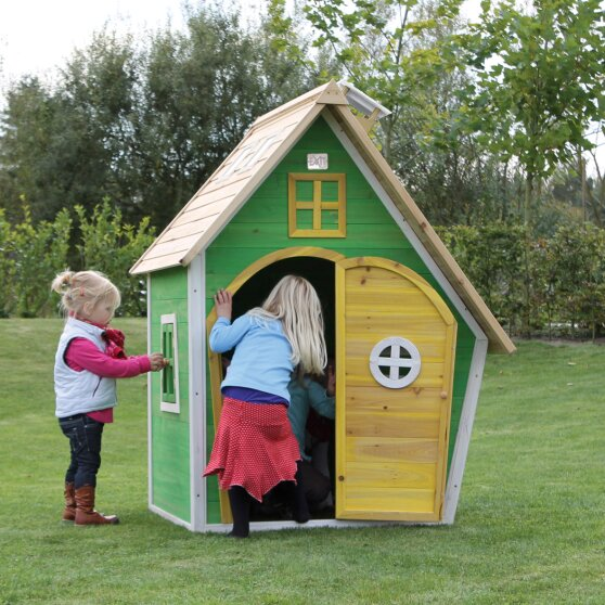 EXIT Fantasia 100 wooden playhouse - green