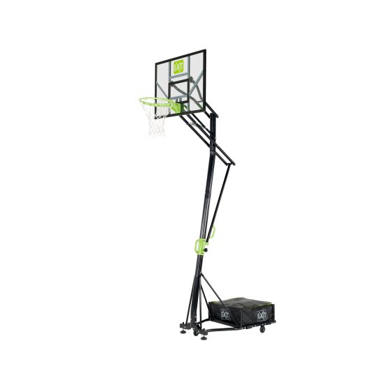 EXIT portable basketball backboard on wheels - green/black