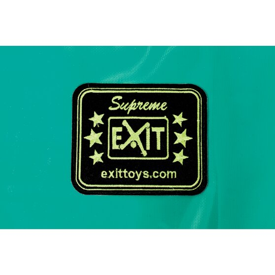 EXIT Supreme ground trampoline ø427cm - green