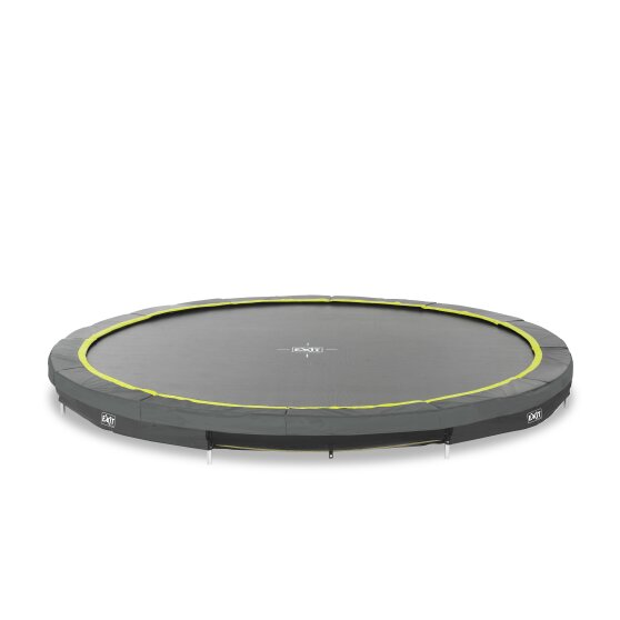 EXIT Silhouette ground trampoline ø366cm - black