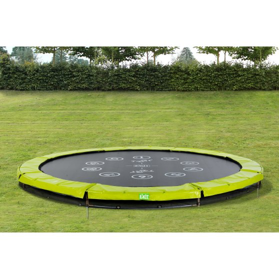 12.61.10.01-exit-twist-ground-trampoline-o305cm-green-grey-6