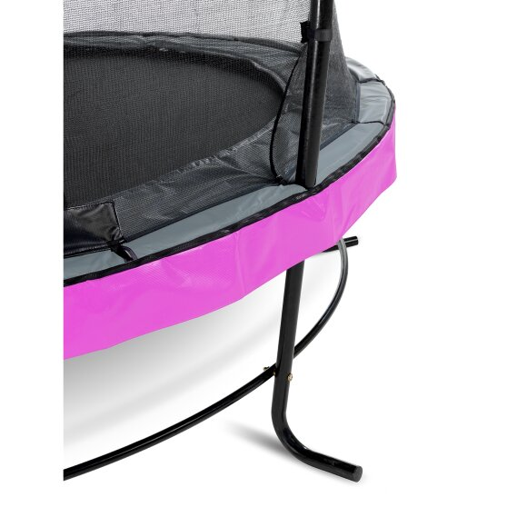 EXIT Elegant trampoline ø305cm with Economy safetynet - purple