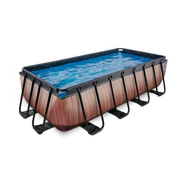 30.00.42.10-exit-pool-wood-400x200-cm-with-filter-pump-brown-1